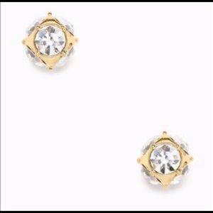 NWT ♠️Kate Spade Gold Lady Marmalade Stud Earrings